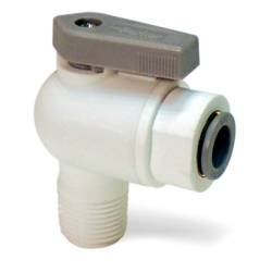 LIQUIfit™ Male Elbow Valve