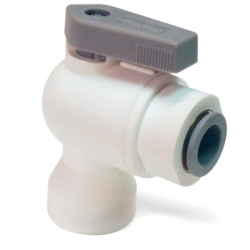 LIQUIfit™ Female Elbow Valve