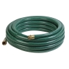 "3/4"" ID x 50' Heavy Duty Reinforced Green PVC Water Hose Assembly"