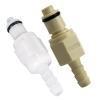 "1/4"" Hose Barb PLC Series Polypropylene Insert - Shutoff"