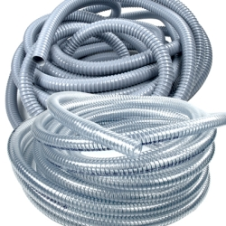 Wire Reinforced Vinyl Hose for 89001 (Standard Length 50' & Sold in 10' intervals only)