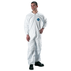 Tyvek® Coverall with Elastic Wrists & Ankles