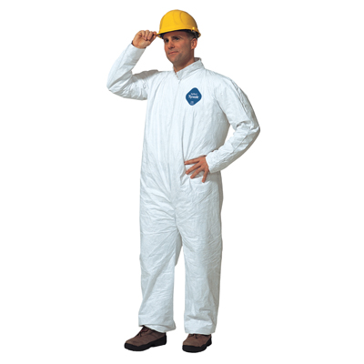Tyvek® Coverall with Straight Wrists and Ankles