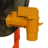 Drum Faucet with Bucket Hook