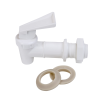 "White HFSLT Faucet 3/4""-16 UNF 1"" Long"