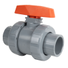 "4"" Socket CPVC TB Series Ball Valve with EPDM O-rings"