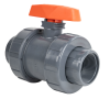 "3"" Threaded PVC TB Series Ball Valve with EPDM O-rings"
