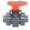 "3/8"" Metering PVC Ball Valve with FPM Seals"