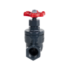 "1-1/4"" Threaded PVC Globe Valve"