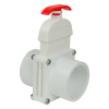 "2"" Socket x Socket White Knife Gate Valve"
