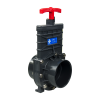 "4"" Socket x Socket Gray Knife Gate Valve"