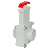 "1"" Socket x Socket White Knife Gate Valve"