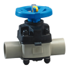 "1/2"" T-342 PP-Pure® Diaphragm Valve with EPDM Diaphragm (Normally Closed)"
