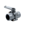 """3/4"""" Socket x 3/4"""" Socket(for SCH 40 & 80 Pipe) Series 250 Ball Valve with Buna-N Seals"""
