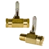"SMC 027 Series Brass 1/4"" Two-way Ball Valves"