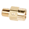 "1/8"" FNPT x 1/8"" MNPT Series 210 Brass Check Valve with Buna-N Seals - 1 PSI"