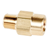 "1/8"" FNPT x 1/8"" MNPT Series 210 Brass Check Valve with Buna-N Seals - 1/3 PSI"
