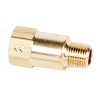 "1/8"" MNPT x 1/8"" FNPT Series 210 Brass Check Valve with Viton™ Seals - 1 PSI"