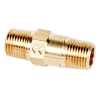 "1/8"" MNPT x 1/8"" MNPT Series 210 Brass Check Valve with Buna-N Seals - 1 PSI"