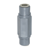 """3/8"""" OD Push-To-Connect x 3/8"""" OD Push-to-Connect Series 426 PVC Check Valve with FKM Seals"""