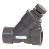 "1"" Threaded SLC Series Spring Loaded Y-Check Valve with FPM O-rings"