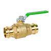 "1-1/2"" 759PLF Lead Free Press Ball Valve"