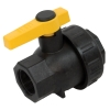 "1"" Full Port Single Union Spinweld Ball Valve with 1"" Flow Size"