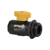 "1/2"" FNPT x 1"" MNPT Micro Valve with Locking Handle"
