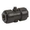 "3/4"" x 3/4"" Polypropylene Pinch Valve with EPDM Gasket"