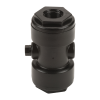 "1"" x 3/4"" Polypropylene Pinch Valve with EPDM Gasket"