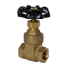 "3/8"" FNPT No-lead Brass Gate Valve"