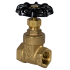 "1/2"" FNPT No-lead Brass Gate Valve"