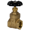 "3/4"" FNPT No-lead Brass Gate Valve"