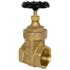 "2-1/2"" FNPT No-lead Brass Gate Valve"