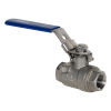 "3/8"" FNPT 316 Stainless Steel Full Port Ball Valve"