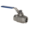 "1"" FNPT 316 Stainless Steel Full Port Ball Valve"