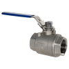 "1-1/2"" FNPT 316 Stainless Steel Full Port Ball Valve"