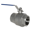 "3"" FNPT 304 Stainless Steel Ball Valve"