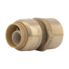 """1/2"""" Push-to-Connect x 1/2"""" FNPT SharkBite® Brass Female Connector"""