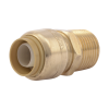 """1/2"""" Push-to-Connect x 1/2"""" MNPT SharkBite® Brass Male Connector"""