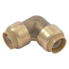"1/2"" Push-to-Connect x 1/2"" Push-to-Connect SharkBite® Brass 90° Elbow"