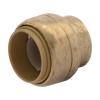 "1/2"" Push-to-Connect SharkBite® Brass End Cap"