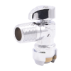 """1/2"""" Push-to-Connect x 1/2"""" MIP SharkBite® Brass Angle Stop Valve"""
