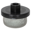 "1/4"" FNPT x 40 Mesh x 2.385"" Dia. Nylon/Stainless Steel Suction Strainer"