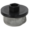 "3/4"" FNPT x 40 Mesh x 3.5"" Dia. Nylon/Stainless Steel Suction Strainer"