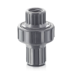 "1"" NPT CPVC CKM Diaphragm Check Valve with Viton™ Diaphragm"