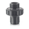 "1"" NPT PVC CKM Diaphragm Check Valve with Viton™ Diaphragm"