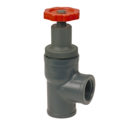 NIBCO® Chemtrol® PVC Angle Globe Valve