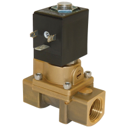 Spartan Scientific™ Series 45A0 2-Way Brass/Stainless Steel Solenoid Valves