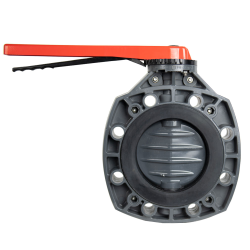 "4"" Classic Butterfly Valve with Lever Handle & EPDM O-ring"